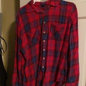American eagle button up.